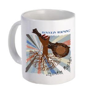 Justin Mychals- Mandolin Morning Album Cover Artwork Mug