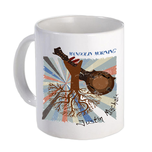 Justin Mychals- Mandolin Morning Album Cover Artwork Mug