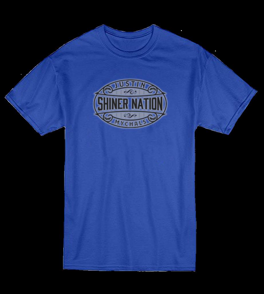 Justin Mychals- Shiner Nation T Shirt