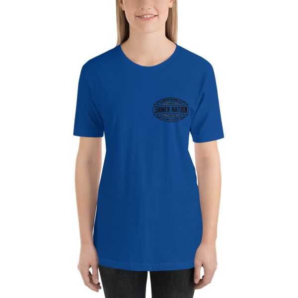 Shiner Nation Breast Logo Short-Sleeve Unisex T-Shirt