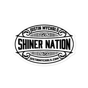 Shiner Nation Bubble-free stickers
