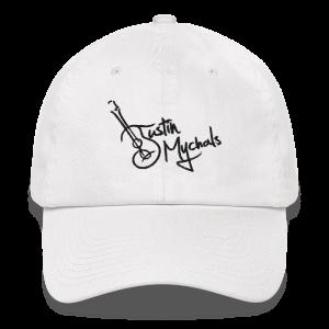 Justin Mychals Guitar Logo Dad hat