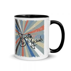 Mandolin Mornin' Mug with Color Inside