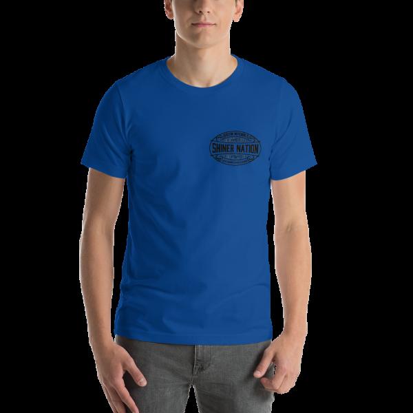 Shiner Nation Breast Logo Short-Sleeve Unisex T-Shirt