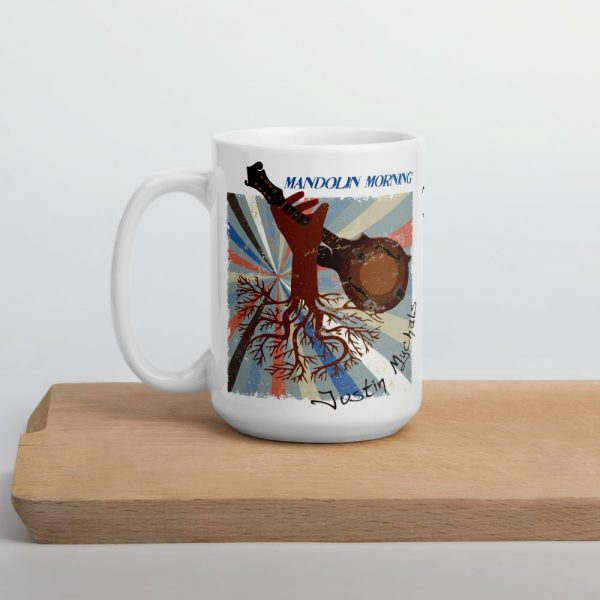Mandolin Morning Justin Mychals coffee Mug