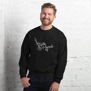 Justin Mychals Guitar Logo Unisex Sweatshirt
