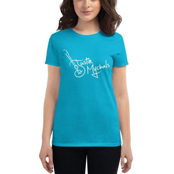 Justin Mychals Guitar Logo Women's short sleeve t-shirt
