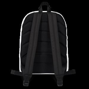 Justin Mychals Guitar Logo Backpack
