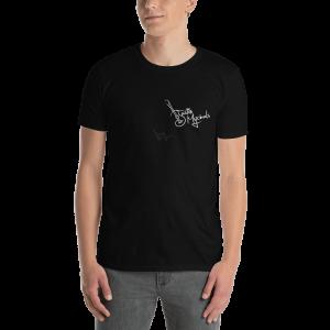 Justin Mychals Breast logo Short-Sleeve Unisex T-Shirt